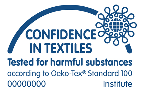 Confidence in Textiles - Tested for Harmful Substances according to Oeko-Tex Standard Institute